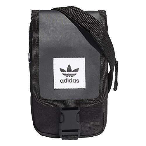 adidas Map bag - Bolso bandolera, color Negro, talla Einheitsgröße