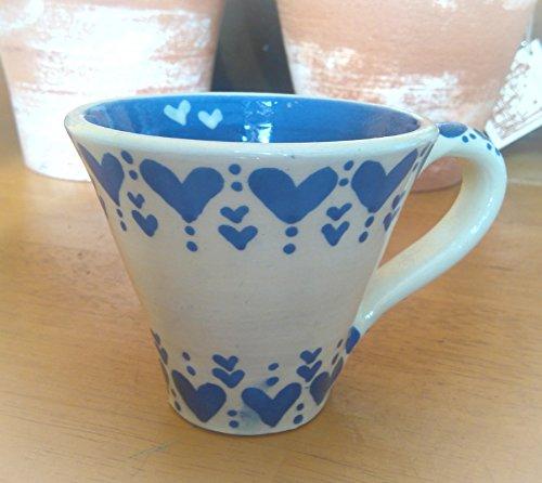 Taza blue heart a-101