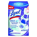 Product Image of the Lysol Automatic Toilet Bowl Cleaning Click Gel, Lavender Scent, 4 Count (Pack of 5)
