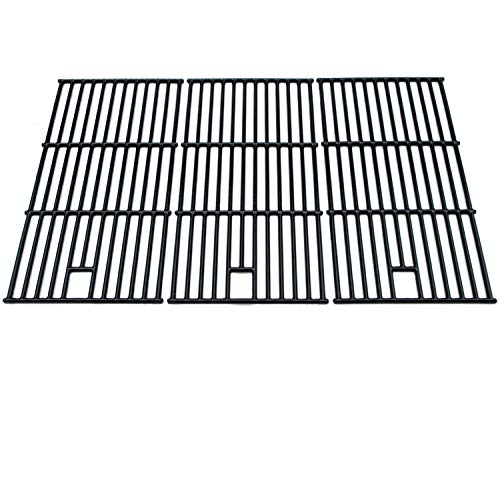 Direct Store Parts DC123 Polished Porcelain Coated Cast Iron Cooking Grid Replacement Brinkmann, Charmglow, Costco Kirkland, Jenn Air, Members Mark, Nexgrill, Perfect Flame, SAMS Club Gas Grill