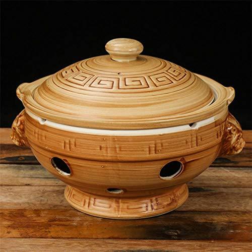 XCVB Oploop Chinese stijl keramische alcohol fornuis hitte bewaring oven droog rijst pot pot pot hete pan soep kom stoofpan