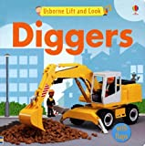 Usborne Lift and Look Diggers (Lift-and-look Board Books)