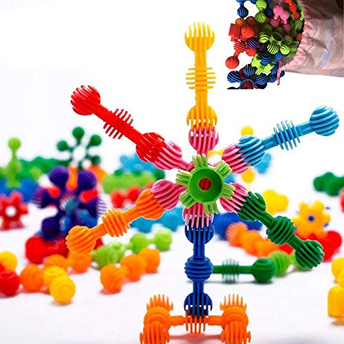 AnDa Star Flex Create Puzzle Toys, Creative and Educational 3D Puzzle Games, Interlocking Creative Connecting Kit, Great STEM Toys for Boys and Girls!