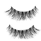 LuckyGirls 2018 Heiß! 10 Paar Japanese Style Künstliche Wimpern Schwarz Natürliche Weiche Lange Make-Up Eye Lashes