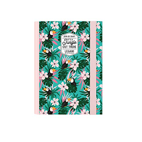Small photo weekly diary with notebook 16 mesi 2019 2020 - toucans
