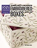 RSN: Embroidered Boxes (Royal School of Needlework Guides)