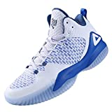 PEAK High Top Mens Basketball Shoes Lou Williams Streetball Master Breathable Non Slip Outdoor Sneakers Cushioning Workout Shoes for Fitness