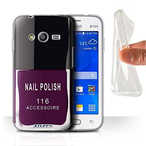 Stuff4 Var voor Samsung Galaxy nagellak/make-up Samsung Galaxy Trend Neo/G313 Paars