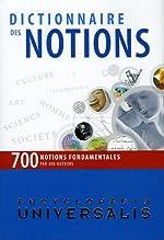 Dictionnaire des Notions d'Encyclopaedia Universalis