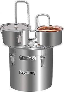 Fayelong Kit De Fabrication De Vin d'acier Inoxydable, Kit De Brassage à La Maison De Réservoir De Fermentation De Vin pou...