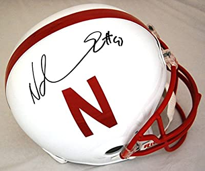 Ndamukong Suh Nebraska Cornhuskers Autographed Full Size Replica Helmet - Autographed College Helmets