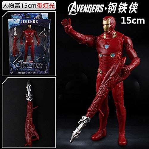 Action & Toy Figures - Marvel Toys The Avengers Endgame Thanos Spiderman Hulk Iron Man Captain America Thor Wolverine Action Figure Toys Dolls (21) LATT LIV