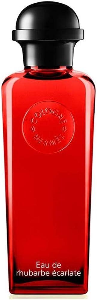 Hermès, eau de rhubarbe ecarlate,eau de cologne, 100ml,unisex 275-00353