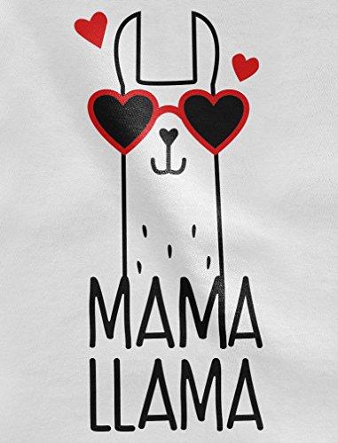 Tstars – Mama Llama Gift for wife / Mother Cute Women Hoodie