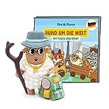 tonies Hörfiguren für Toniebox, Rund um die Welt mit Fuchs & Schaf – Osaka & Serengeti, Hörspiel für Kinder ab 4 Jahren, Spielzeit ca. 40 Minuten
