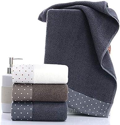タオルケット 男性と女性の綿のタオルクレンジングタオル タオルケット シングル (Size : 75*35)