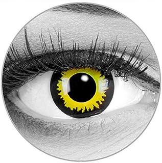 d6543e29af Colores Contacto lente Eclipse Amarillo Yellow + 60 ml Cuidado de + comida  – funnylens Marca