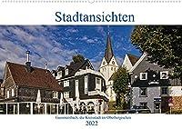 Stadtansichten, Gummersbach (Wandkalender 2022 DIN A2 quer): Die Kreisstadt im Oberbergischen (Monatskalender, 14 Seiten )