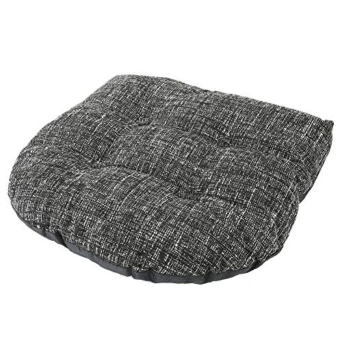 Cuscini Sedie Cuscino Imbottito Cuscino del Sedile Nero Cuscino Poliestere Poliestere Cuscino del Sedile Morbido Schienale Cuscino Patio Giardino Mobili da Giardino Cuscino Forniture per La Casa 39 *