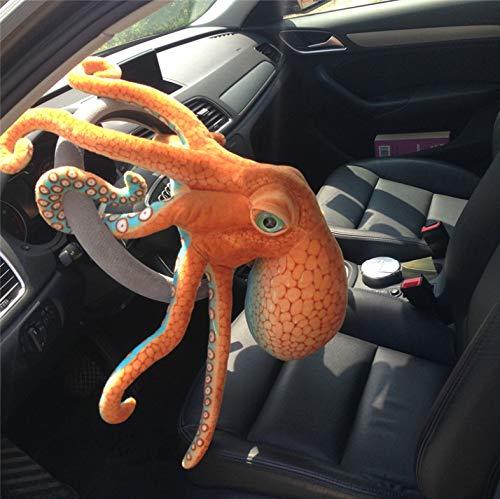 wanxiangguichun Spielzeug Nette Simulation Octopus Plüsch Stofftier Stofftier Wohnaccessoires Realistische Octopus Puppe Kindergeschenk 50 cm
