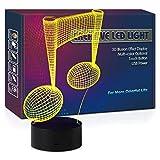HIPIYA Music Note Night Light LED 3D Illusion USB 7 Color Neon Lamp Christmas Present Birthday Gift...