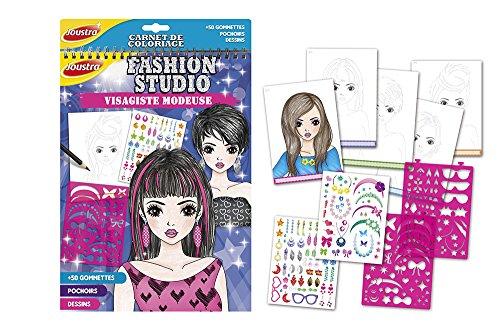 Joustra - 41615 - Scuola di Alimentazione - Fashion Studio: Carnet - Visagiste Modeuse