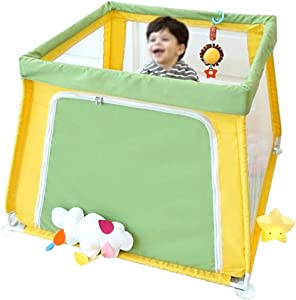 Hxmwl Playpens Children s Fence Children s Portable Playground Fence Baby Play Fence  Freestanding Playground  Suitable for Baby Toddler Newborn Baby Safe Crawl