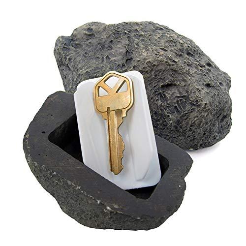シークレットBOX 石型(鍵用 隠し金庫 キーボックス キーBOX セーフティーBOX)