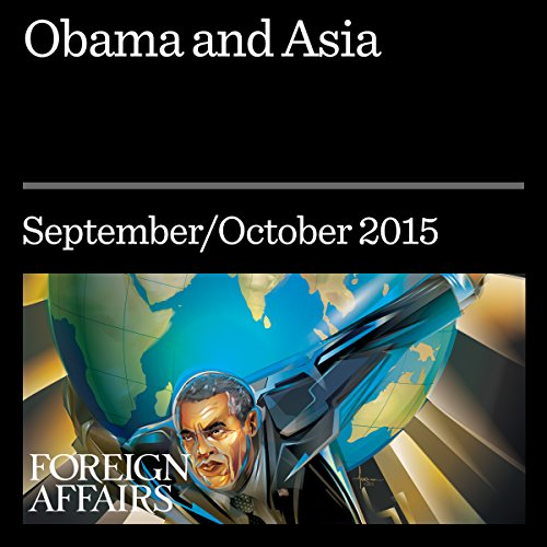 Obama and Asia audiobook cover art