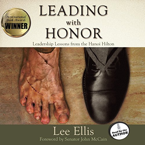 Leading with Honor audiobook cover art