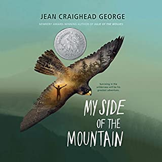 My Side of the Mountain                   Written by:                                                                                                                                 Jean Craighead George                               Narrated by:                                                                                                                                 Michael Crouch                      Length: 4 hrs and 36 mins     9 ratings     Overall 4.3