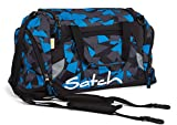 ergobag Sporttasche Dufflebag Kinder Satch SAT-DUF-001 Blue Triangle