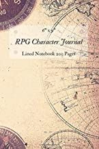 RPG Character Journal: DnD Campaign Tabletop Notebook 6x9 lined 200 Pages, Perfect to Take Notes For Role Playing Games