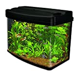 Interpet Fish Pod Glass Aquarium Fish Tank 48 Litre including CF1 Cartridge Filter