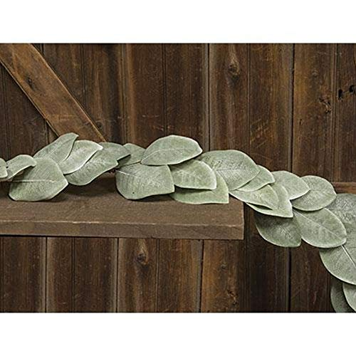 BCD Cove Harbor Magnolia Garland, 5ft - Perfect Year Round Decoration - Artificial