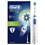 Oral B Pro 600 Cross Action Electric Rechargeable Toothbrush (Multicolor)