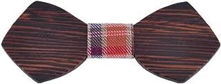 Men's Wood Bow Tie Handmade Wooden Bowties Wedding Party Accessories