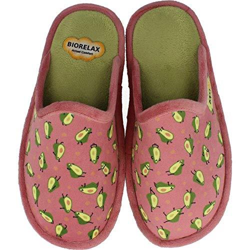 BioRelax - Zapatillas Mujer Aguacates