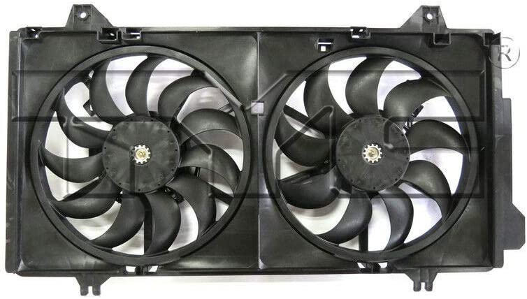 TYC Bargain sale 623250 famous Replacement Cooling Fan with Assembly Mazd Compatible