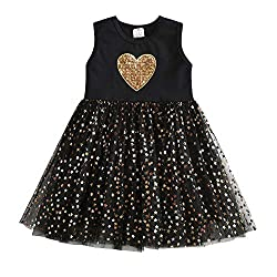 Black Short Sleeveless Tutu Dress Sh4510