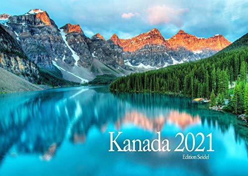 Edition Seidel Kanada Premium Kalender 2021 DIN A3 Wandkalender Amerika