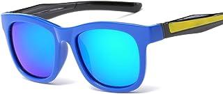BUKUANG - BUKUANG Gafas De Sol De Los Niños Cómodas Gafas De Sol Gafas De Sol De La Membrana De Silicona Niños De Brillo De Sol Parciales,E