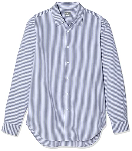 [ザノースフェイス] シャツ ロングスリーブノーザンハリアーシャツ メンズ NR11953 ブルーストライプ S