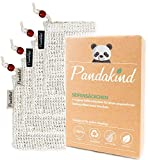Pandakind - [4x] Seifensäckchen - Luffa - 100% natürliches Körper-Peeling