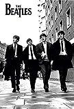 MonkeyPosters Beatles London Poster, Mehrfarbig, 61 x 91