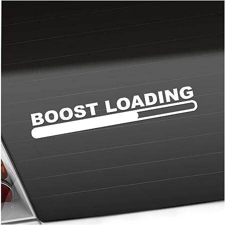 Boost Loading 20 X 3 Cm In 15 Farben Neon Chrom Jdm Sticker Aufkleber Auto