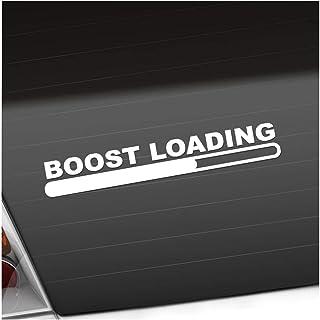 Boost Loading 20 x 3 cm In 15 Farben   Neon + Chrom! JDM Sticker Aufkleber