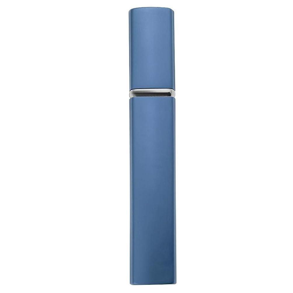 作成者キリスト失敗12ミリリットル/ 10ミリリットル詰め替えミニ香水スプレーボトルアルミスプレーアトマイザーポータブルトラベル化粧品容器パルファムツール、12 MLブルー