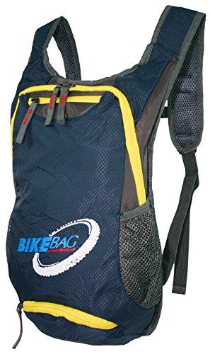 WILD THINGS ONLY !!! Fahrradrucksack für Trekking Outdoor Sport | Ultra-Leichter handlicher Rucksack fürs Bike in 2 Farben | gepolstert (Blau)