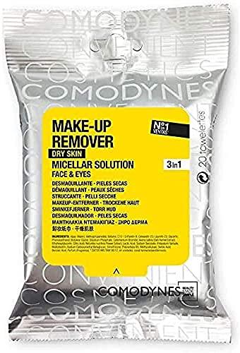 Comodynes Make Up Remover Pack 20 Del Lingettes Démaquillantes Pour Peaux Delicat